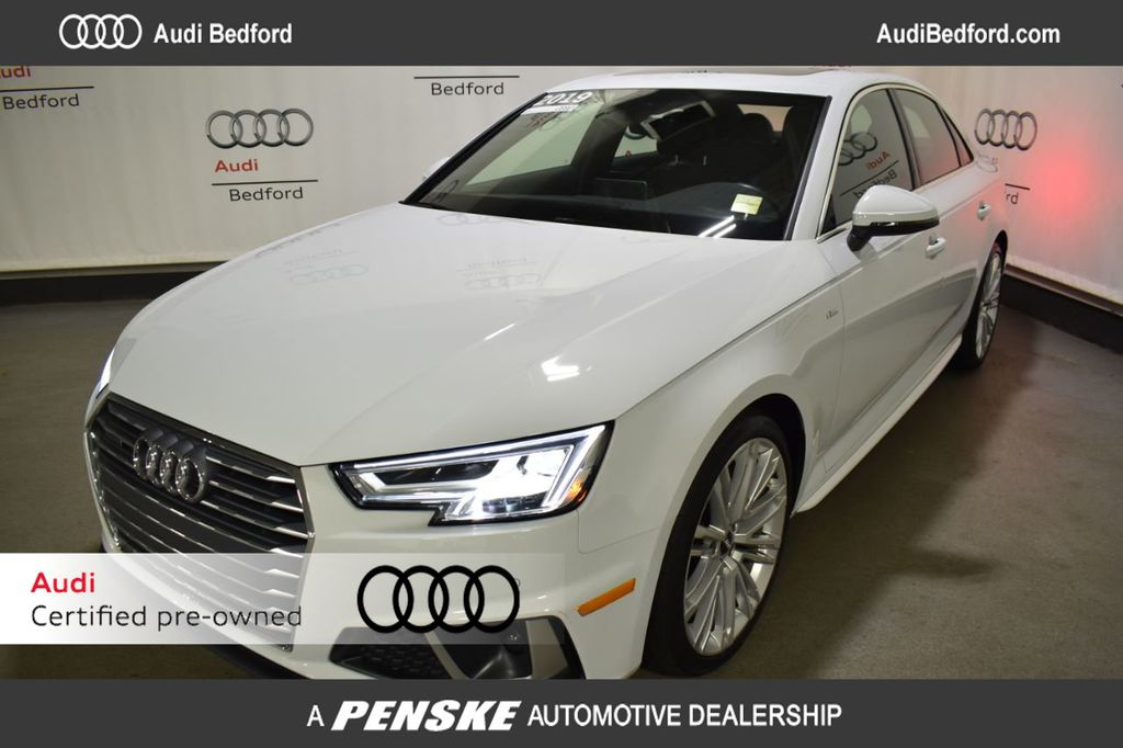 Certified Pre-Owned 2019 Audi A4 2.0 TFSI Premium Plus S Tronic quattro AWD