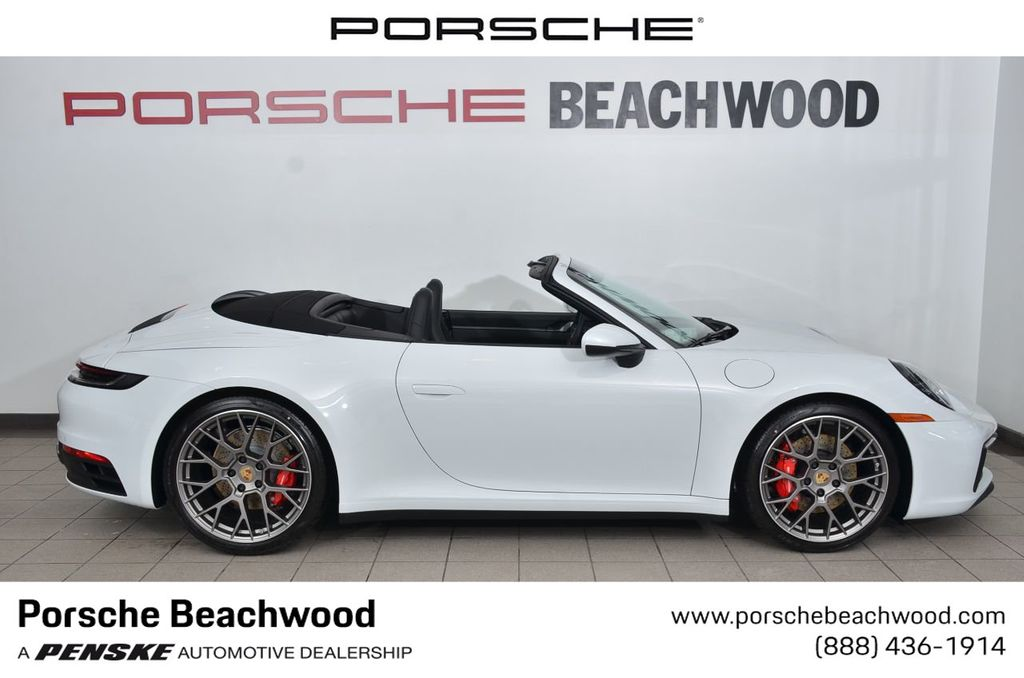 New 2020 Porsche 911 Carrera S Cabriolet Convertible At Porsche Beachwood P6369 Penske Sale