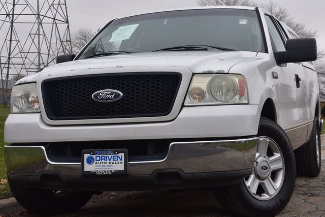 Ford F150 Xlt >> 2004 Used Ford F 150 Reg Cab 145 Xlt At Driven Auto Sales Serving Burbank Il Iid 18275681