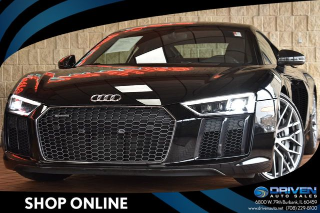 2017 Used Audi R8 2dr Coupe Automatic Quattro V10 Plus At Driven Auto Sales Serving Burbank Il Iid 18976445