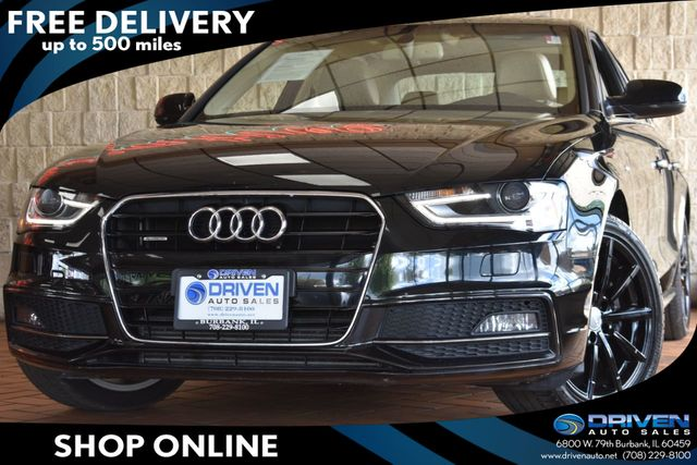 Audi 2.0 T >> 2016 Used Audi A4 4dr Sedan Automatic Quattro 2 0t Premium Plus At Driven Auto Sales Serving Burbank Il Iid 18985488
