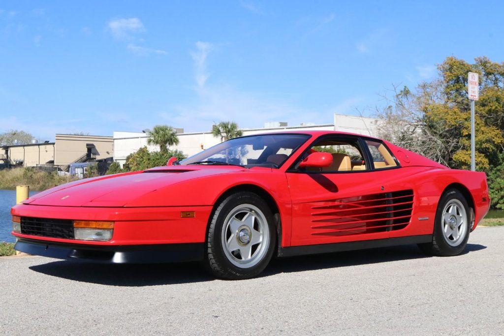 Dealer Video - 1987 Ferrari Testarossa Base Trim - 18596210