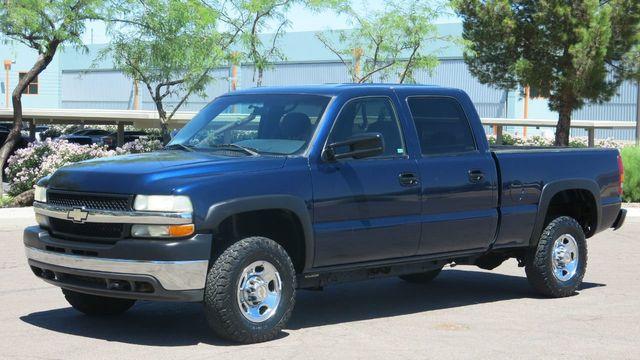 2002 Used Chevrolet Silverado 2500hd Crewcab 4x4 Silverado 2500 At Myrick Motors Serving Phoenix Az Iid 19059524