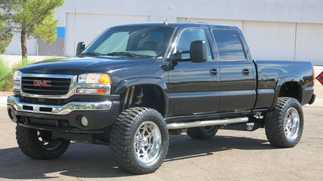 2006 Used GMC Sierra 2500HD SIERRA 2500 SLT 4X4 CREWCAB DURAMAX DIESEL at  Myrick Motors Serving Phoenix, AZ, IID 19078181