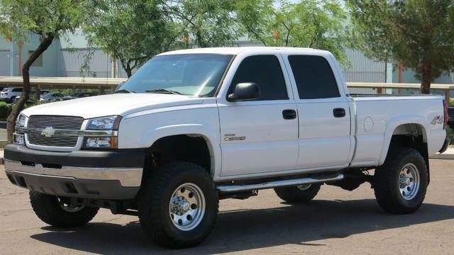 2004 Used Chevrolet Silverado 2500hd 4x4 Crew Cab Silverado 2500 Ls At Myrick Motors Serving Phoenix Az Iid 19173657