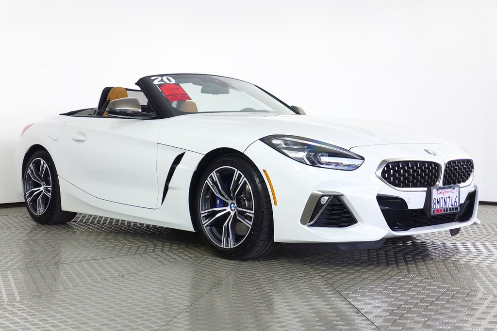 Pre-Owned 2020 BMW Z4 M40i Roadster