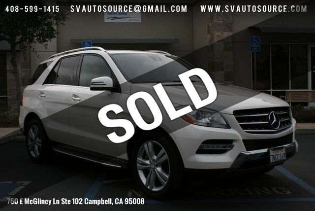 2012 Used Mercedes-Benz M-Class ML 350 4MATIC 4dr ML350 BlueTEC at Silicon  Valley Auto Source Serving Campbell, CA, IID 18607033