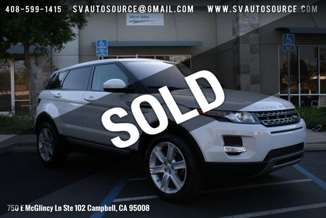 2015 Used Land Rover Range Rover Evoque 5dr Hatchback Pure Plus at Silicon Valley Auto Source Serving Campbell, CA, IID 18753031