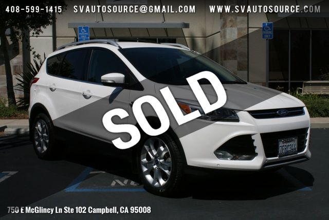 2014 Ford Escape Mpg >> 2014 Used Ford Escape 4wd 4dr Titanium At Silicon Valley Auto Source Serving Campbell Ca Iid 18912857