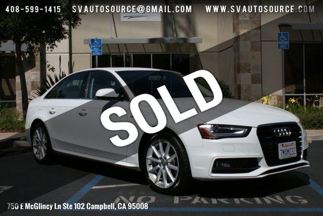 2015 Used Audi A4 4dr Sedan Automatic quattro 2 0T Premium Plus at Silicon  Valley Auto Source Serving Campbell, CA, IID 18953353