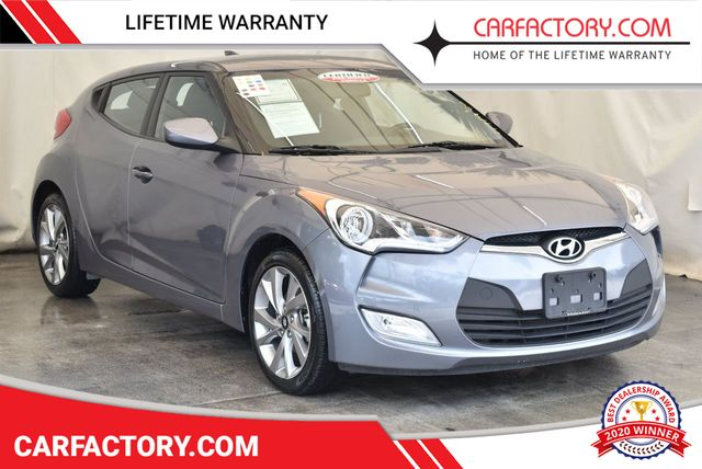 2017 Used Hyundai Veloster Value Edition Dual Clutch at Car Factory Outlet  Serving Miami-Dade, Broward, Palm Beach, Collier and Monroe County, FL, IID