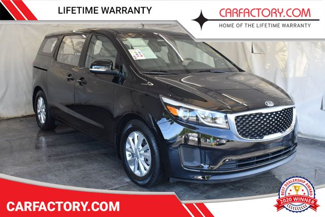 2016 Used Kia Sedona L At Car Factory Outlet Serving Miami Dade Broward Palm Beach Collier And Monroe County Fl Iid 18194296