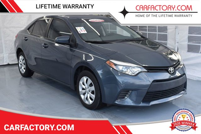 Used Toyota Corolla >> 2016 Used Toyota Corolla 4dr Sedan Automatic L At Car Factory Outlet