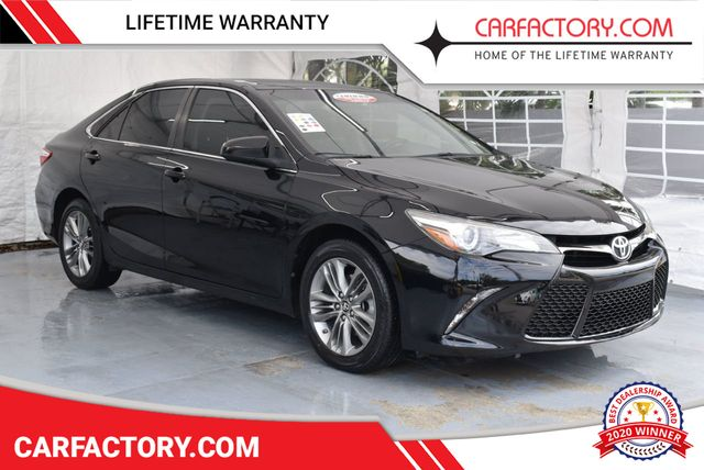 Toyota Camry Used >> 2016 Used Toyota Camry Se At Car Factory Outlet Serving Miami Dade