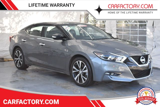 2018 Used Nissan Maxima Sedan 4 Dr At Car Factory Outlet Serving