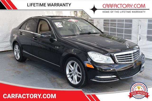 2013 Used Mercedes-Benz C-Class C 300 4dr Sedan C300 Sport 4MATICSEDAN 4 DR  at Car Factory Outlet Serving Miami-Dade, Broward, Palm Beach, Collier and