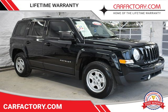 2015 Used Jeep Patriot SPORT 4 DOOR WAGON/SPORT UTILITY at Car Factory  Outlet Serving Miami-Dade, Broward, Palm Beach, Collier and Monroe County,  FL,