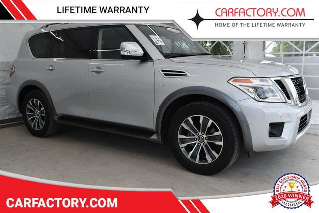 2018 Used Nissan Armada 4x4 SL SPORT UTILITY 4-DR at Car Factory Outlet  Serving Miami-Dade, Broward, Palm Beach, Collier and Monroe County, FL, IID