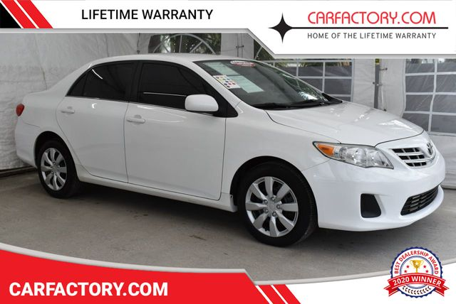 Used Toyota Corolla >> 2013 Used Toyota Corolla Sedan 4 Dr At Car Factory Outlet Serving
