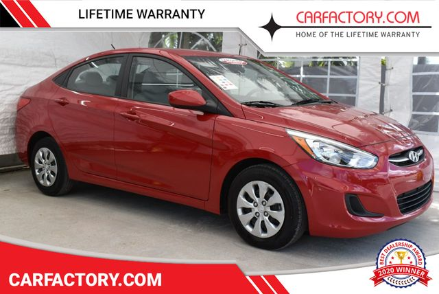 Used Hyundai Accent >> 2017 Used Hyundai Accent Se Sedan 4 Dr At Car Factory Outlet Serving Miami Dade Broward Palm Beach Collier And Monroe County Fl Iid 18893340