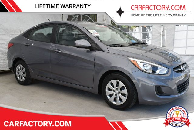 Used Hyundai Accent >> 2017 Used Hyundai Accent Se Sedan 4 Dr At Car Factory Outlet Serving
