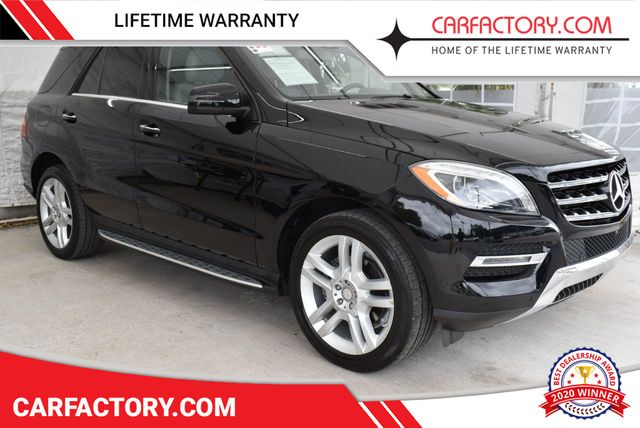 2014 Used Mercedes-Benz M-Class 4 DOOR WAGON/SPORT UTILITY at Car Factory  Outlet Serving Miami-Dade, Broward, Palm Beach, Collier and Monroe County,