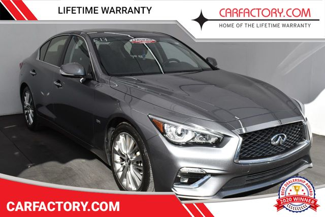 Infiniti Dealer Miami >> 2019 Used Infiniti Q50 Luxe Sedan 4 Dr At Car Factory Outlet Serving Miami Dade Broward Palm Beach Collier And Monroe County Fl Iid 19643738