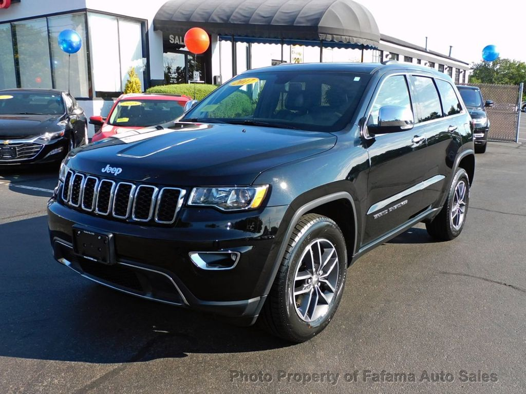 used 2017 Jeep Grand Cherokee car, priced at $27,590