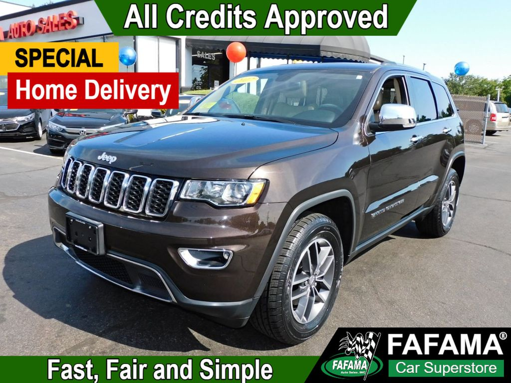 used 2017 Jeep Grand Cherokee car, priced at $27,990