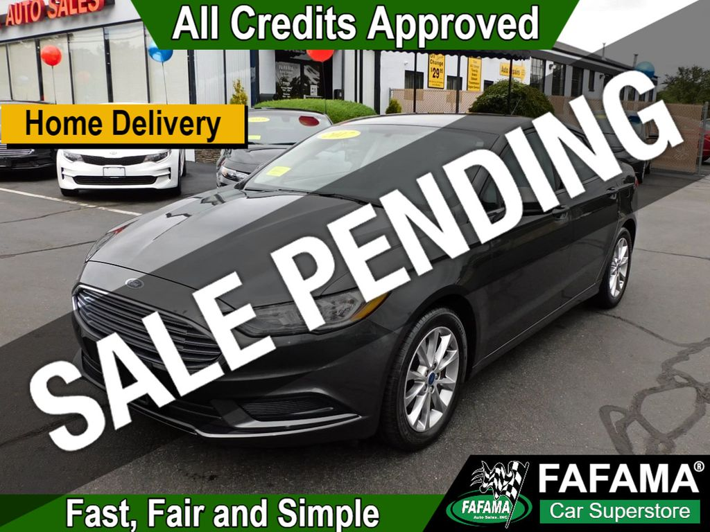 used 2017 Ford Fusion car, priced at $14,190