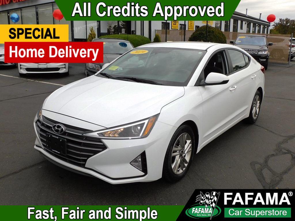 used 2019 Hyundai Elantra car, priced at $13,790