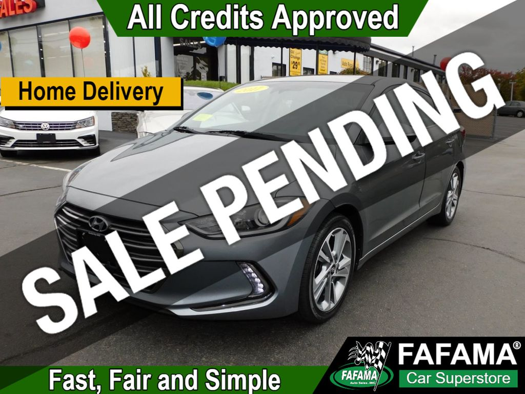 used 2017 Hyundai Elantra car, priced at $15,390