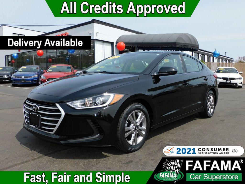 used 2018 Hyundai Elantra car, priced at $16,190