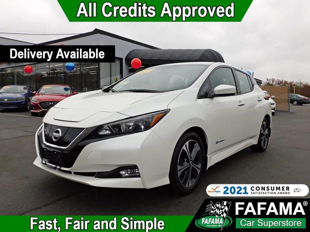 used 2018 Nissan Leaf car, priced at $20,390
