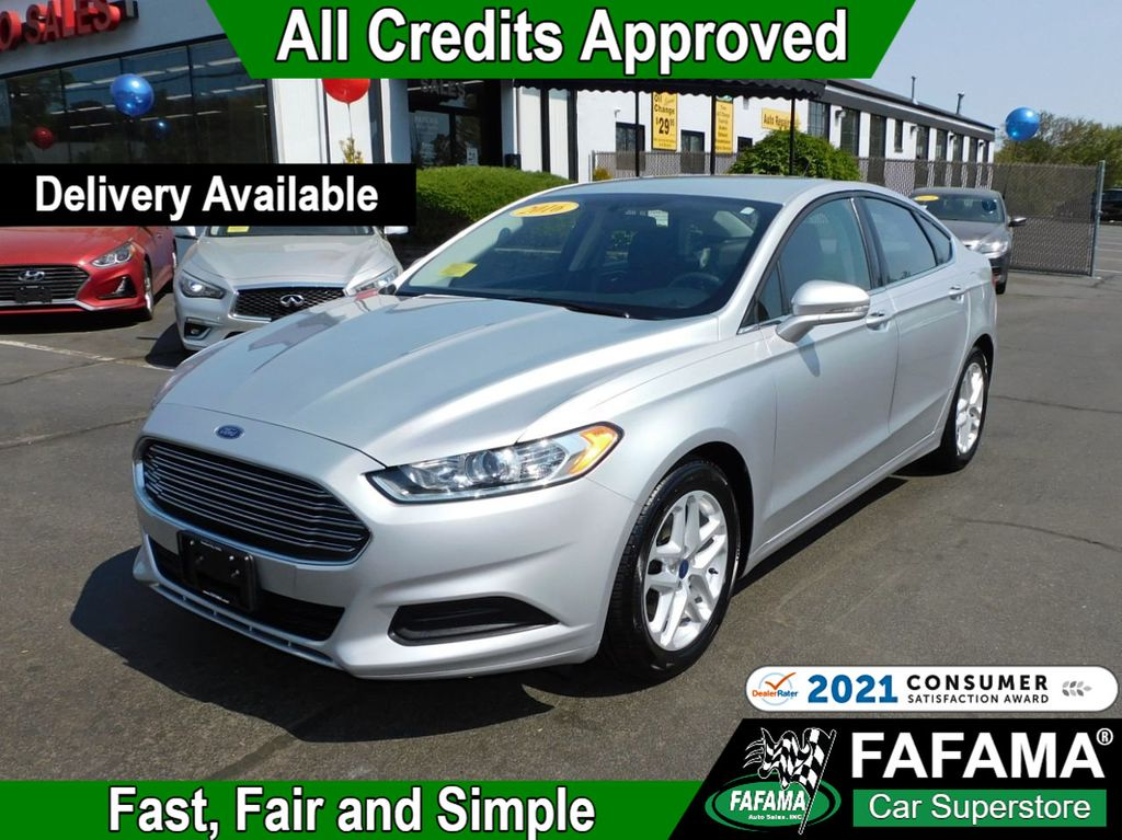 used 2016 Ford Fusion car, priced at $15,790
