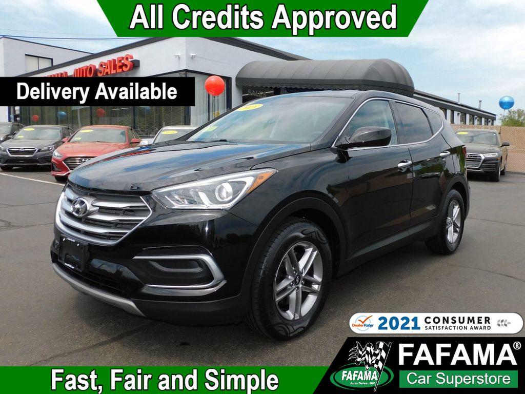 used 2018 Hyundai Santa Fe Sport car, priced at $21,390