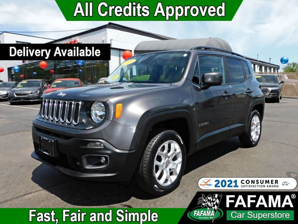 used 2017 Jeep Renegade car, priced at $19,790