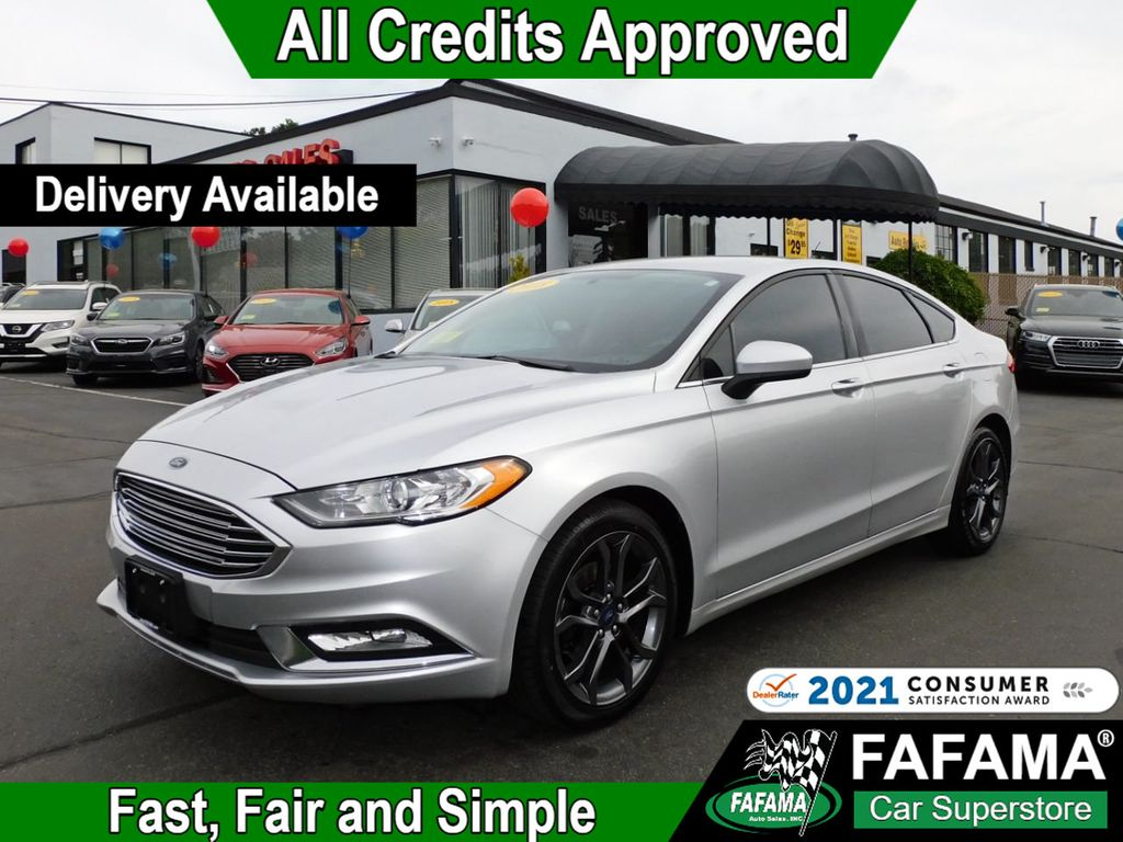 used 2018 Ford Fusion car, priced at $17,390
