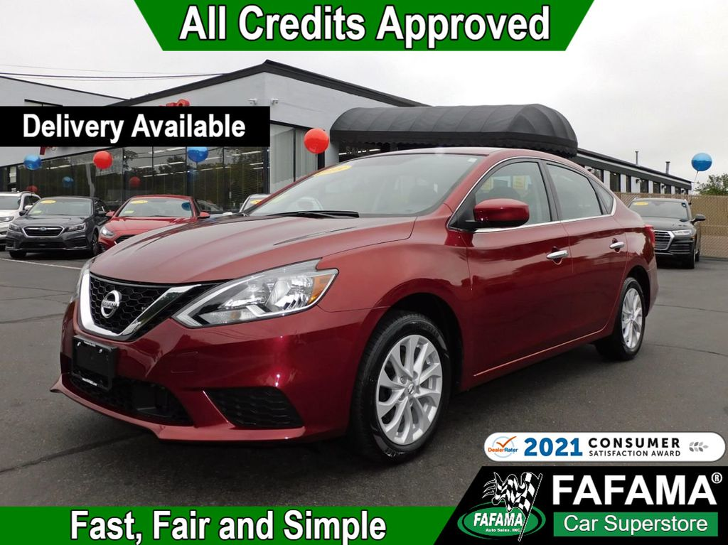 used 2018 Nissan Sentra car, priced at $15,790