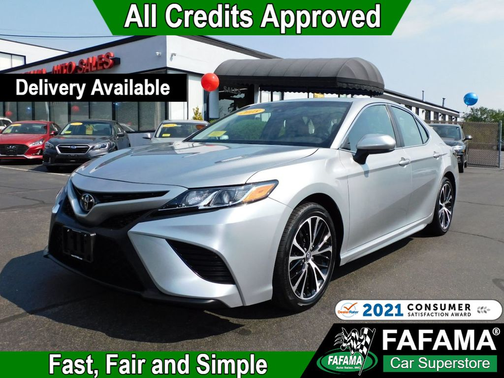 used 2018 Toyota Camry car, priced at $23,790