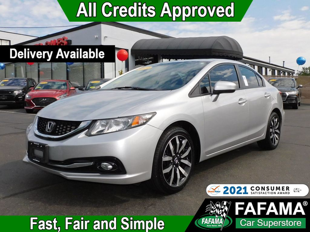 used 2015 Honda Civic Sedan car, priced at $13,590