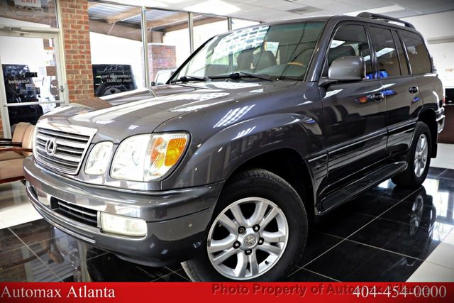 2005 Used Lexus LX 470 NAVIGATION AND BACK UP CAMERA at