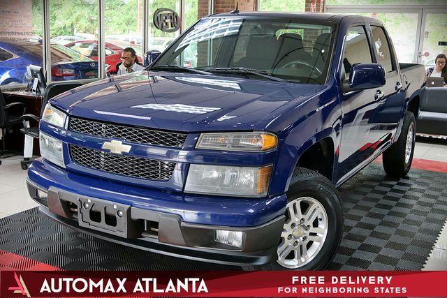 "Atlanta Used Cars Lilburn >> 2011 Used Chevrolet Colorado 4WD Crew Cab 126.0"" LT w/1LT ..."