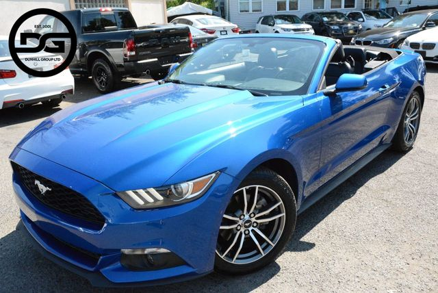 2017 Used Ford Mustang Ecoboost Premium At Price Wise Serving Linden Nj Iid 19149035
