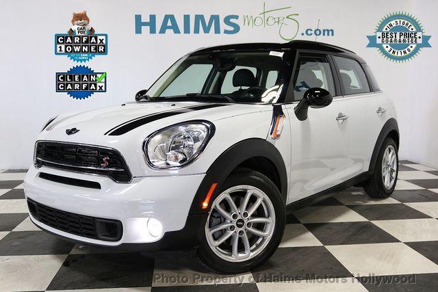 2015 Used Mini Cooper S Countryman At Haims Motors Hollywood Serving