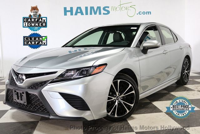 2018 Used Toyota Camry SE Automatic at Haims Motors Hollywood Serving Fort  Lauderdale, Hollywood, Pompano Beach, FL, IID 18202674