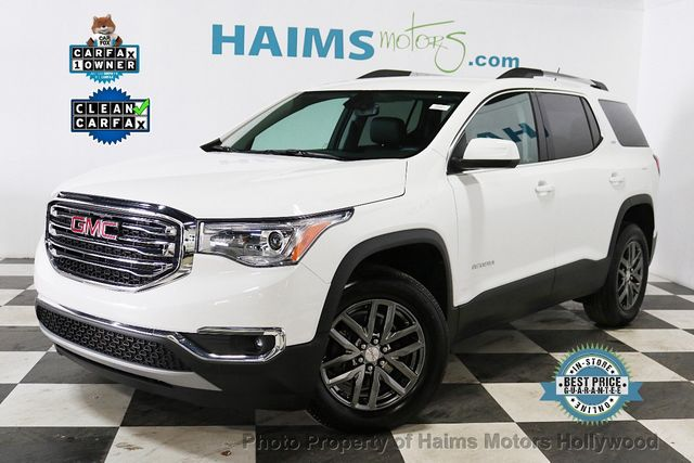 2018 Used GMC Acadia FWD 4dr SLT w/SLT-1 at Haims Motors Serving Fort  Lauderdale, Hollywood, Miami, FL, IID 18450935