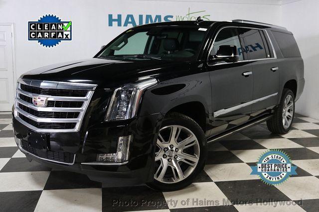 2017 Cadillac Escalade Esv Premium Luxury >> 2017 Used Cadillac Escalade Esv 4wd 4dr Premium Luxury At Haims Motors Hollywood Serving Fort Lauderdale Hollywood Pompano Beach Fl Iid 18538714
