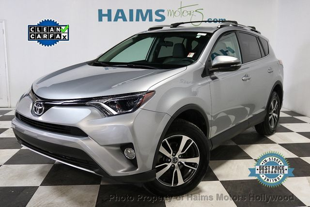 Used Toyota Rav4 For Sale >> 2016 Used Toyota Rav4 Fwd 4dr Xle At Haims Motors Serving Fort