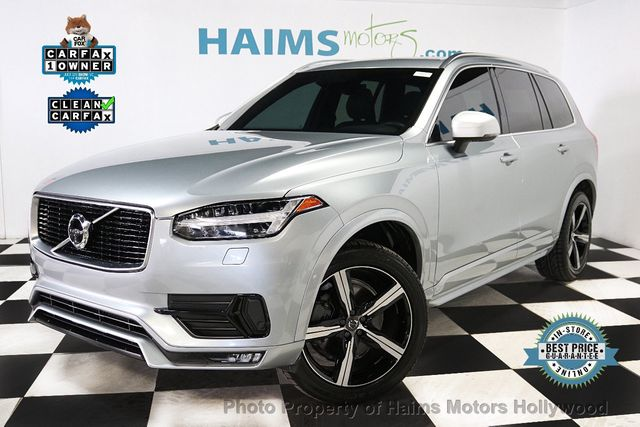 2017 Used Volvo Xc90 R Design At Haims Motors Hollywood Serving Fort Lauderdale Hollywood Pompano Beach Fl Iid 18750216